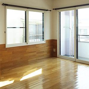 2階、南東側居室