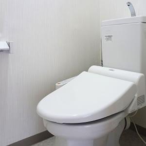 快適!ウォシュレット付きのトイレ