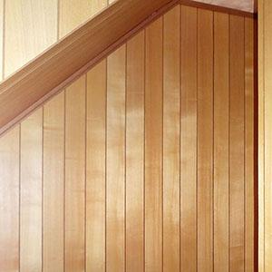 1階、階段下収納(扉を閉めた状態)