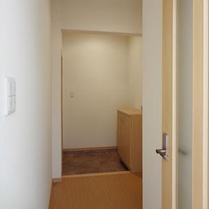 ゆったりした広さの玄関まわり