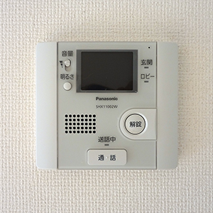 LDK|モニター付きインターホン