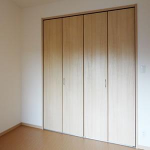 南西側居室|収納量たっぷりの大型クローゼット