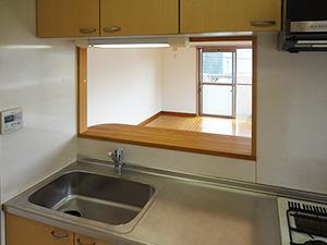 キッチン:余裕の調理スペース