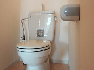 トイレも浴室とは別で独立しています