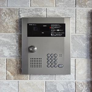 建物はオートロックでセキュリティ面も安心