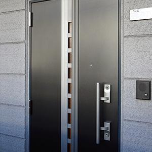 2ロックの玄関ドア